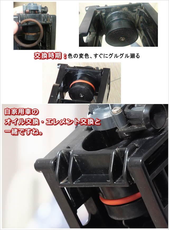 サエコ エスプレッソマシンのユニットO-ring交換